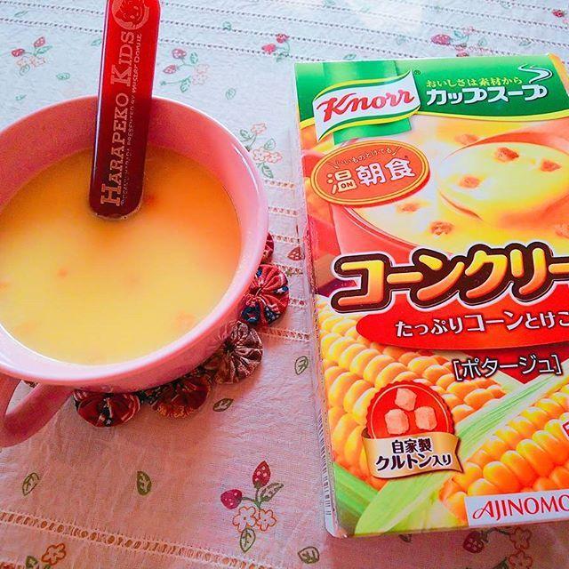 こどもも大好きコーンクリームの味!コーンスープの素で作るレシピ