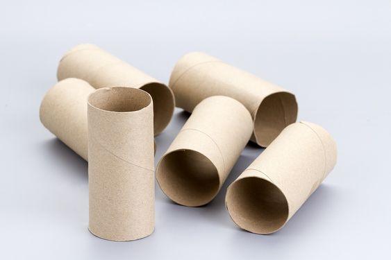 子どもと一緒に楽しくリサイクル♪トイレットペーパーの芯で工作しよう!