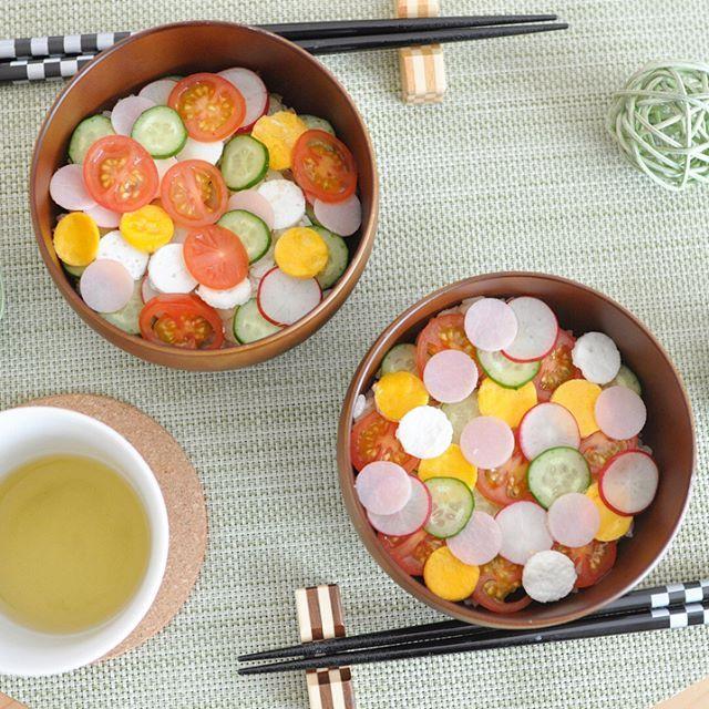 おひな祭りに挑戦したい♪話題の「水玉ちらし寿司」の作り方