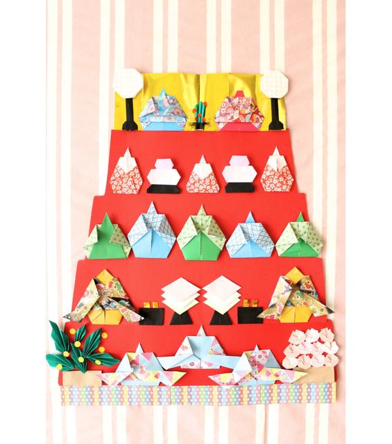 子どもと一緒に作ろう♪ 「おひな祭り」の折り紙と工作まとめ