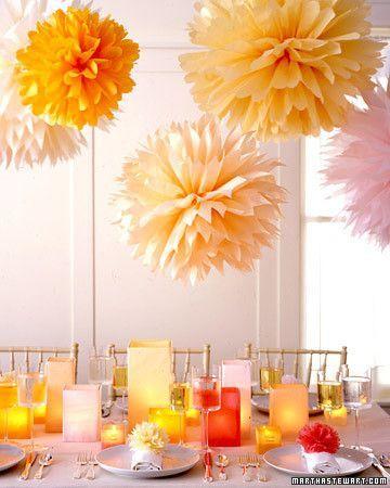春のイベントの飾り付けにも♪ お花紙で作るかわいいものアイデア集
