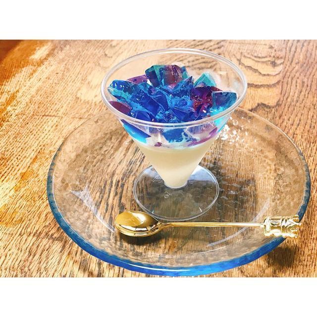 カラフルスィーツが簡単に♪余ったかき氷シロップ活用レシピ