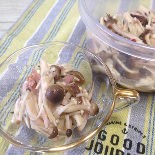 秋に食べたい「きのこ」♪ レンジで作れる作り置きレシピいろいろ