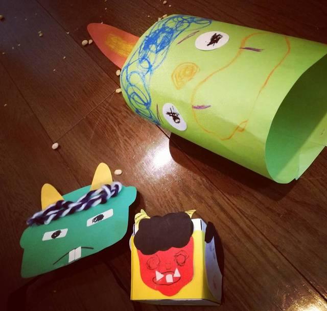 子どもでも簡単♪ 手作りで楽しむ節分の工作アイデア集