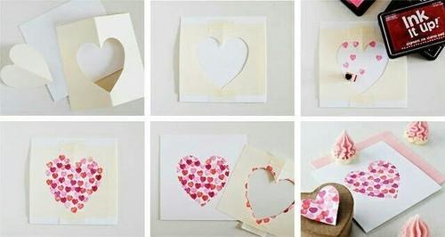 バレンタインのカードや飾りを簡単工作で作ってみよう!