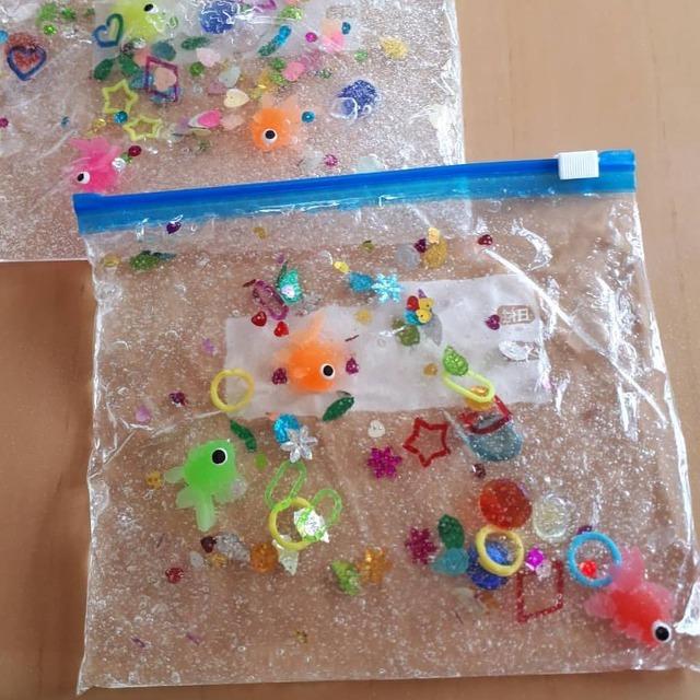 子どもの五感を刺激する知育おもちゃ「センサリーバッグ」を作ってみよう!