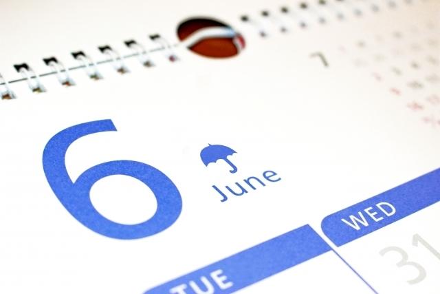 6月にはどんな行事やイベントがある?6月の楽しみ方♪