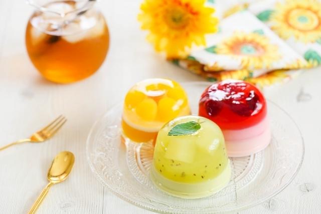 暑い季節は無添加のゼリーを食べて、ひんやりすごそう!