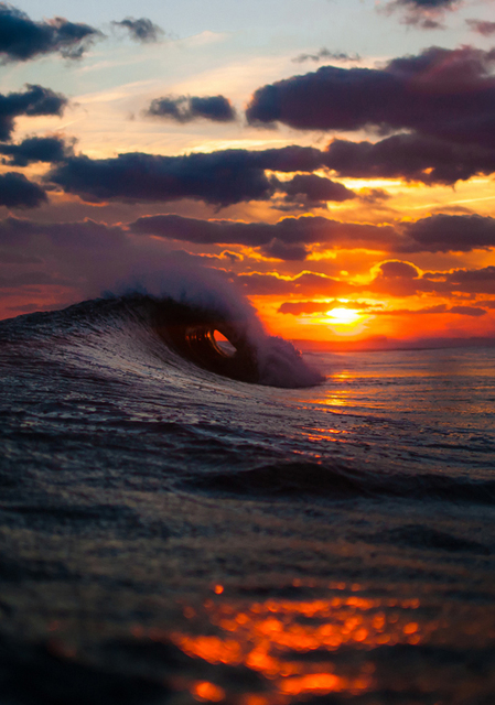 Not Only Photos Set4 | We Heart It | sunset, waves, and sea
