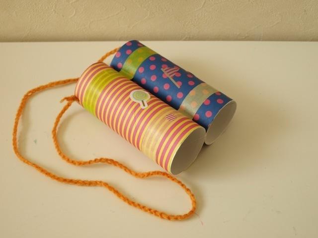 ペーパー おもちゃ トイレット 芯