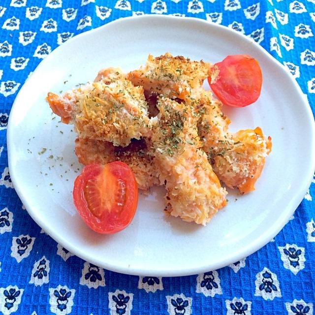 鶏胸肉のオーロラ焼き