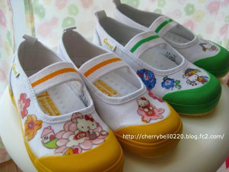 白い上履きもデコパージュで簡単&かわいくセルフプリント☆世界にひとつの作品をつくっちゃいましょう!