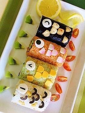 端午の節句に作りたい♪こいのぼりデコのお寿司やデザート