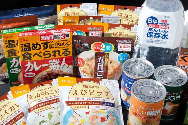 避難生活のために食料の用意を!おすすめ備蓄食料まとめ