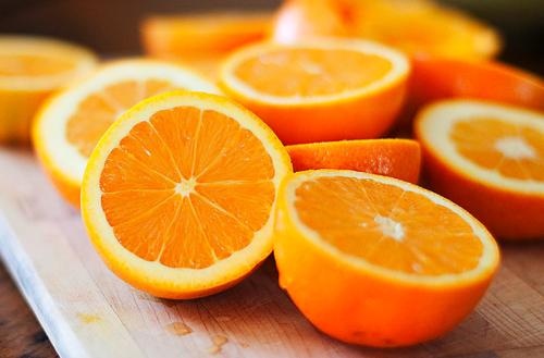 方 オレンジ 切り