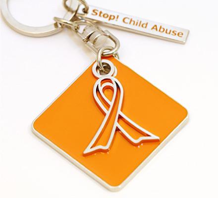 オレンジリボンは何の印だか知ってる?オレンジ色は子どもに明るい未来を開く