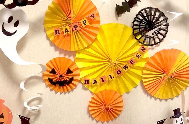 子どもも一緒に飾り付け♪ 楽しく作れるハロウィンの簡単工作