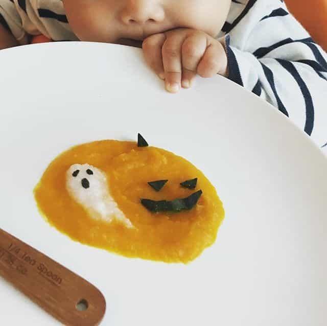 赤ちゃんと楽しむハロウィン! 簡単ハロウィン離乳食のレシピ