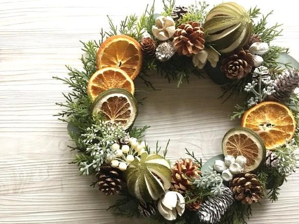 ドライオレンジの香りを飾ろう!クリスマスにもピッタリなリースやいろいろ