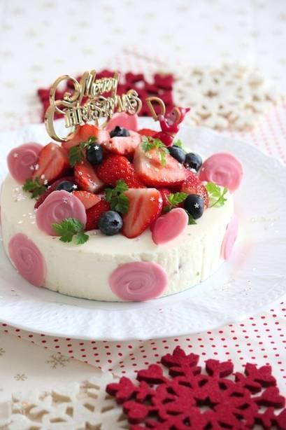 手作りクリスマスケーキの簡単レシピ★子供たちと楽しく作ってクリスマスを盛り上げよう!