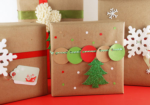 簡単クリスマスのラッピング☆みんなと同じではつまらない!ラッピングにもひと工夫☆