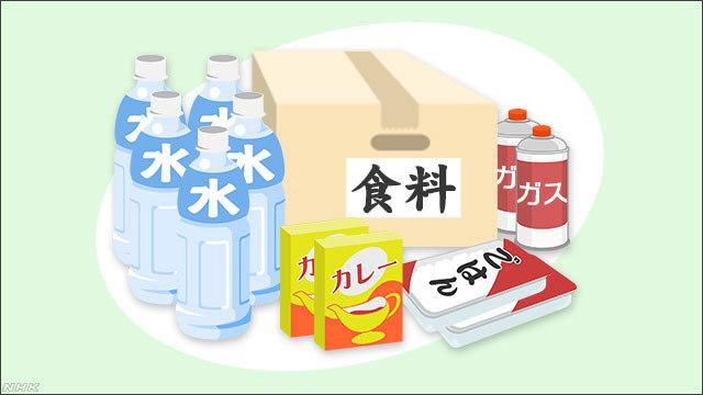 在宅避難をする場合、備えておくと助かる食品にはどんなものがあるのでしょうか。