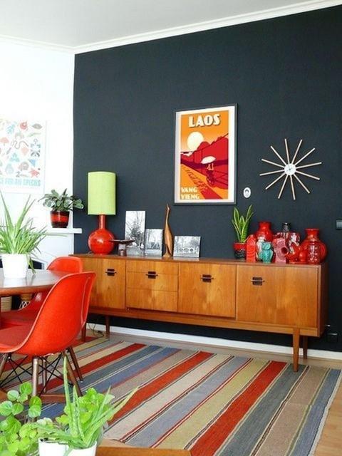 オレンジ色をお部屋のポイントに取り入れたらどんな感じ?おしゃれなお部屋を参考にしてみましょう