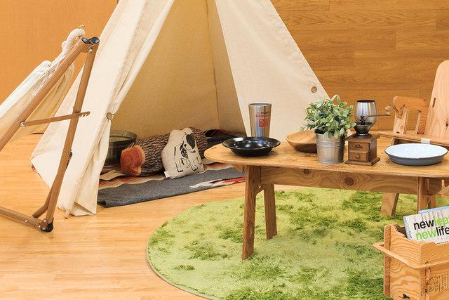 巣ごもり生活・・・そうだ!おうちの中でキャンプごっこしよう♪