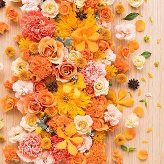 母の日はお花を贈ってみては♡オレンジ色の花で元気をお届けしましょう