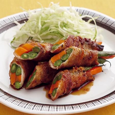 野菜からたまごまで!大人気の肉巻きおかずのアイデア集