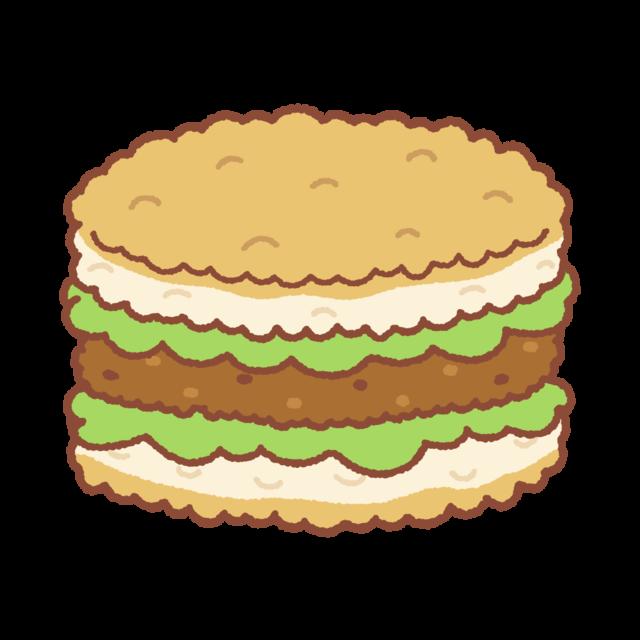 食品用無添加ラップ「ポリラップ」を利用して『ライスバーガー』を作ろう♪