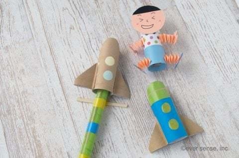 動くおもちゃを作ってみよう!作るのも遊ぶのも楽しい手作りおもちゃです