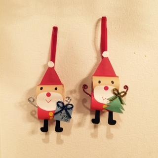 クリスマスのサンタクロース工作★いろんなサンタさんを親子で手作りして楽しみましょう!