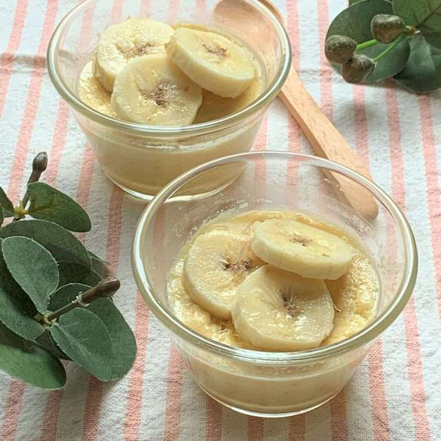 バナナ×レンジで簡単!ほっこり甘いバナナのおやつ