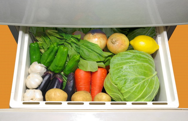 野菜は冷凍保存すると便利!ラップ+保存袋で新鮮さも長持ちです