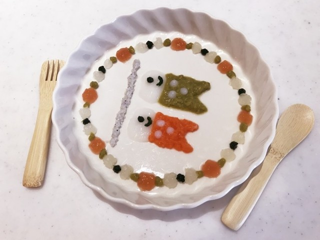 こどもの日の大人気離乳食メニュー「鯉のぼりプレート」や「かぶと」をご紹介♪