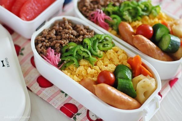 お弁当にはラップを使う♪お弁当の片寄り防止や汚れ防止に役立つ暮らしの知恵