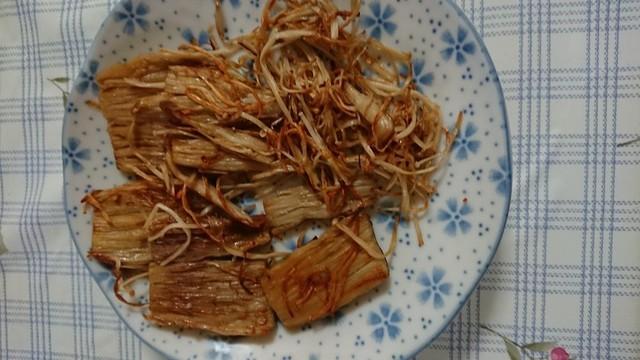カリカリ食感で、驚くおいしさ!「カリカリえのき」の作り方