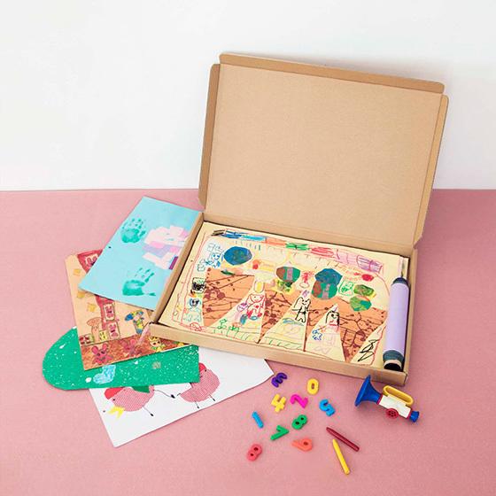 子どもの工作や絵は、どう収納する?子どもの作品の収納アイデア集