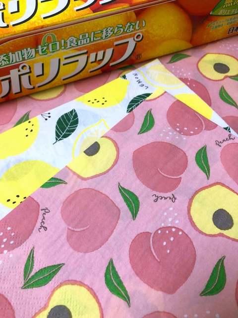 ラップを使い、ペーパーナプキンを普通紙や折り紙の硬さにできるって!?