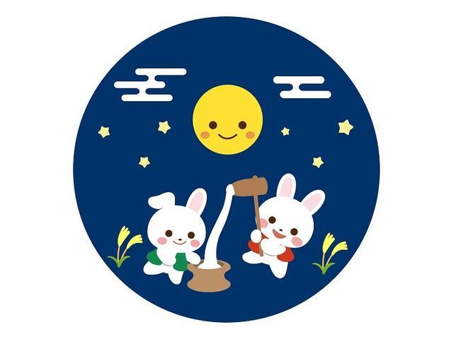 伝統行事のお月見!月やウサギ、お団子などを工作してみよう♡